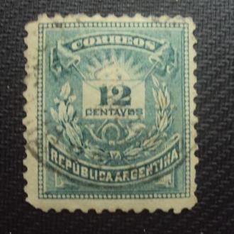 Аргентина 1882г.