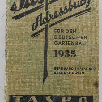 Taspo. Adressbuch. 1935