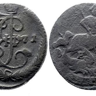 Денга 1771 года №3086