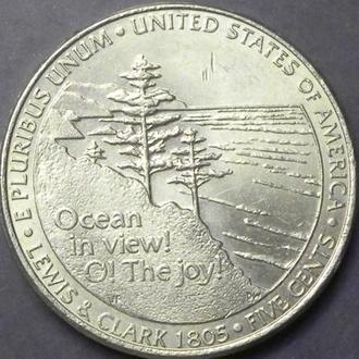 5 центів 2005 P США  Вихід до океану
