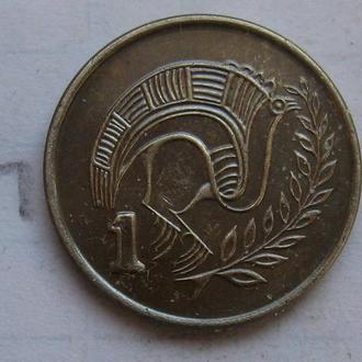 КИПР, 1 цент 1993 года