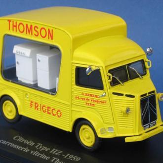 1/43 CITROEN Type HZ-1959 carrosserie vitrine Thomson. HACHETTE.