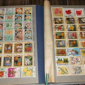 Альбом з марками Квіти Розпродаж колекції