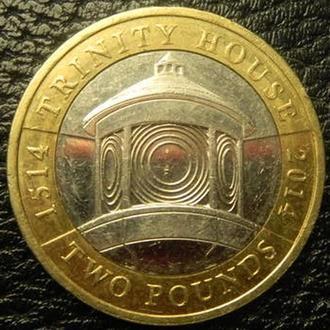 2 фунта 2014 Британія  Трініті Хаус