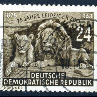 ГДР. Зоопарк (серия) 1953 г.