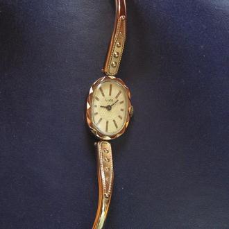 Часы Луч с родным браслетом механика