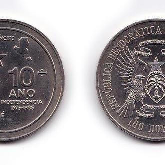 Сан-Томе и Принсипи 100 добра 1985 aUNC