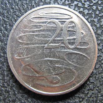 Австралия 20 центов 2004 г.