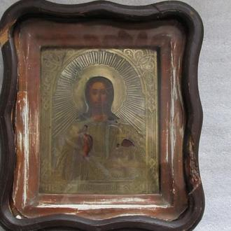 Старинная икона Господь Вседержитель