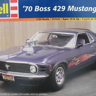 Сборная модель автомобиля Ford Mustang '70  BOSS 429 1:25 Revell