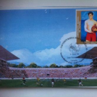 футбол ЧМ 1986 Мексика картмаксимум