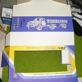 Коробка на зил 130 В1 с прицепом ОДАЗ