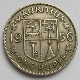 Маврикий 1 рупия 1956 (KM#35.1)
