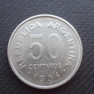 Аргентина 50 сент. 1954г.