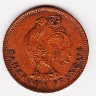 Камерун. 50 сант. 1943г.