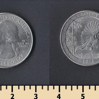 США 25 центов 2015