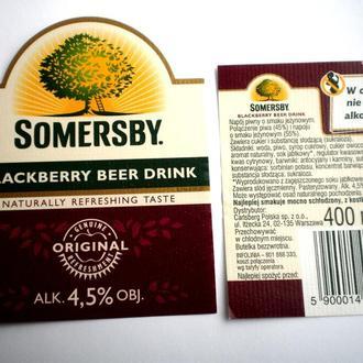 Этикетка Somersby  Польша