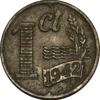 Нідерланди 1 цент  1942