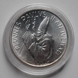 Ватикан 1000 лир 1983-84 г., UNC, 'Священный год'