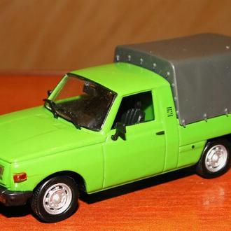 1/43 Wartburg 353 Trans green. DeAgostini Kultowe Auta PRL-u #59. Новая.