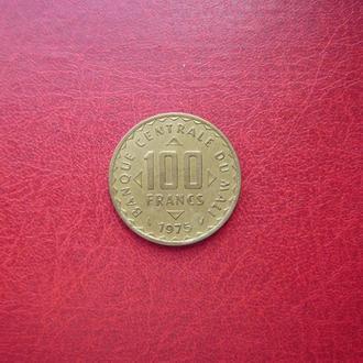Мали 100 франков 1975 Редкая