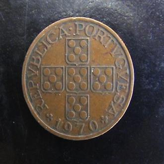 1 эскудо (1970) Португалия.