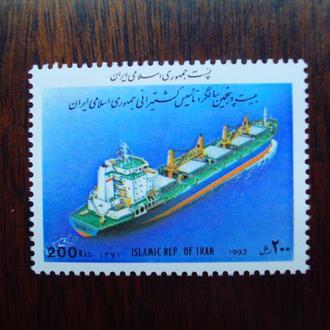 Иран.1992г. Корабль. Полная серия. МNН