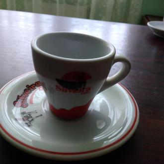 4..SILVEIRA..Чашка +блюдечко ..колекційні