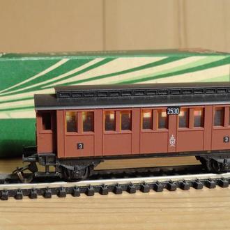 (1443) пассажирский вагон в масштабе TT (1:120)