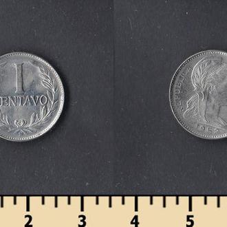 КОЛУМБИЯ 1 СЕНТАВО 1952