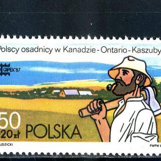 Польша. Диаспора в Канаде. Филвыставка (серии) 1987 г.