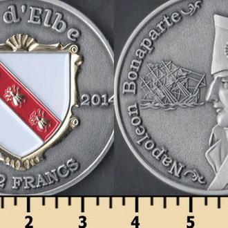 Эльба остров 12 1/2 франков 2014