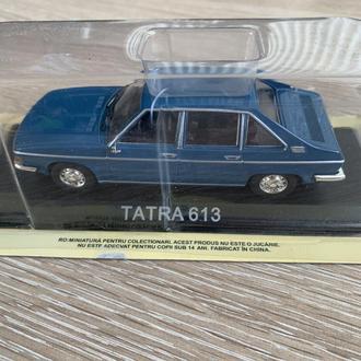 DeAgostini Автолегенды СССР и Соцстран №160 Tatra 613 (Чехословакия)