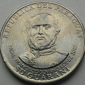 Парагвай 1000 гуарани 2007 год