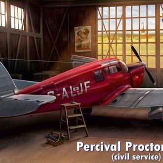 Dora Wings 48016 Percival Proctor Mk.III (civil registration) 1/48