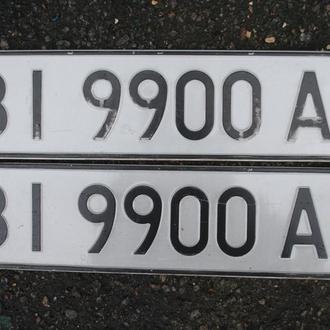 Номера автомобильные красивые, оригинал. Авто № Україна.