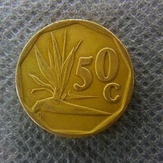 ЮАР 50 центов 1995