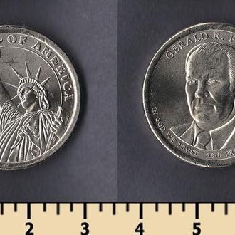 США 1 доллар 2016
