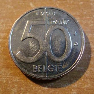 Бельгия 50 франков 1998   belgie