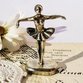 Коллекционная скульптура, Роскошная Дама! Миниатюра! Серебро! Germany!