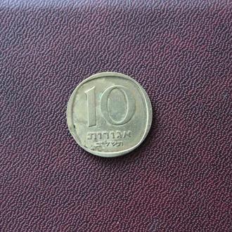 Израель. 10 агор.