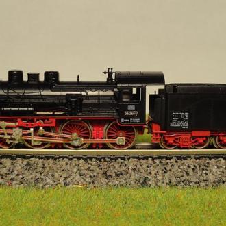 (1347) паровоз Fleischmann BR 38 в масштабе N (1:160)