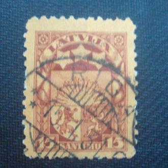 Латвия.гаш. 1921-22г.