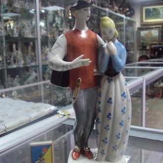 фигура фарфор полонное зхк ромео и джульетта №107