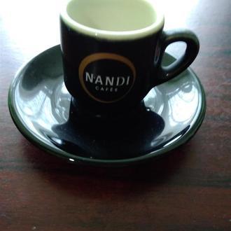21..NANDI..Чашка +блюдечко ..колекційні