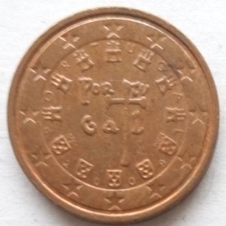 Португалия 2 евро цента 2009