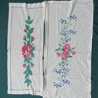 вишита дорiжка рушник серветка салфетка 2 шт (№402)