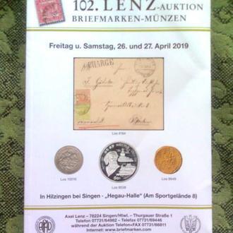"Каталог марок ""LENZ"", 2019 год (560 стр.)"