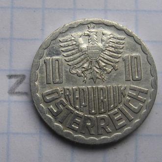 АВСТРИЯ, 10 грошей 1982 года.