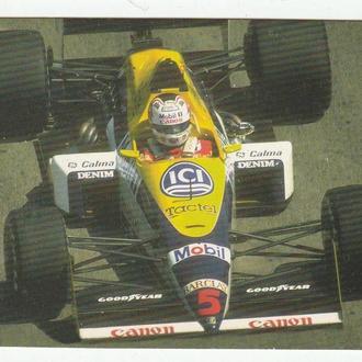 Календарик 1997 Авто, Формула-1
